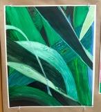 Sophomore Victoria Johnson Art II